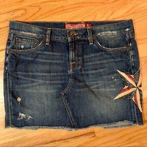 Lucky Denim Skirt